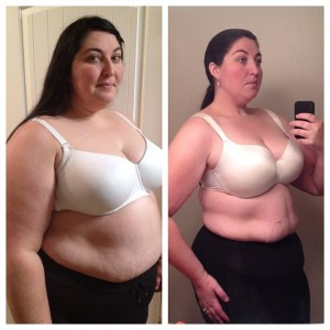 nicole bullock weight loss comparison