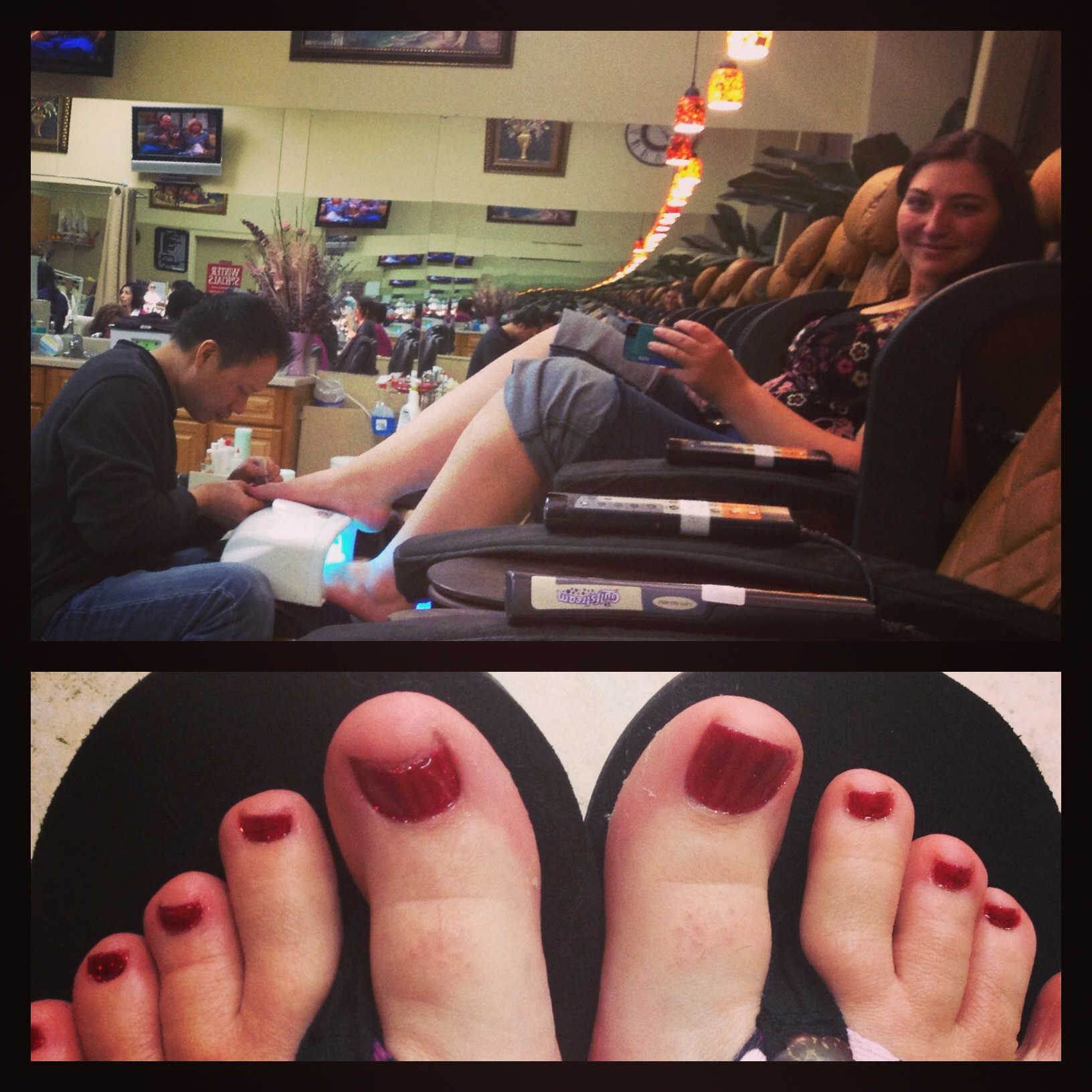 spa pedicure